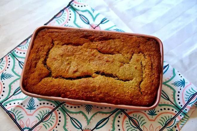 janavar.net | Recipe: Pistachio Banana Bread