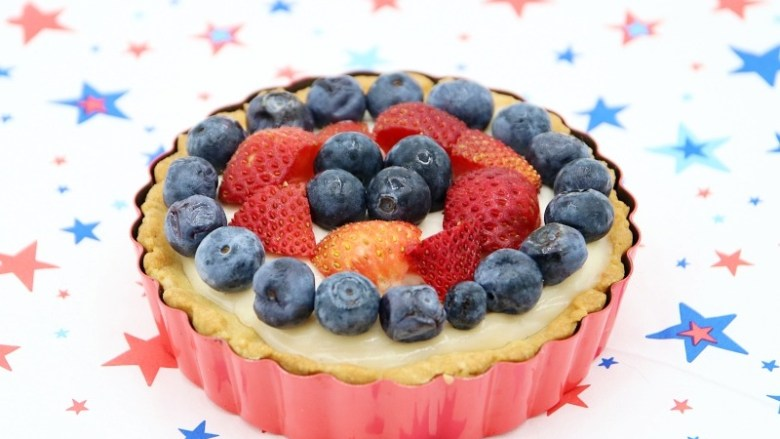 Recipe: 4th July Vegan Cheesecake Pie | janavar
