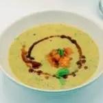 Seasonal Eats Better: Zucchini Soup with Fried Apricots