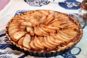 Seasonal Eats Better: Caramelized Walnut Pear Tart