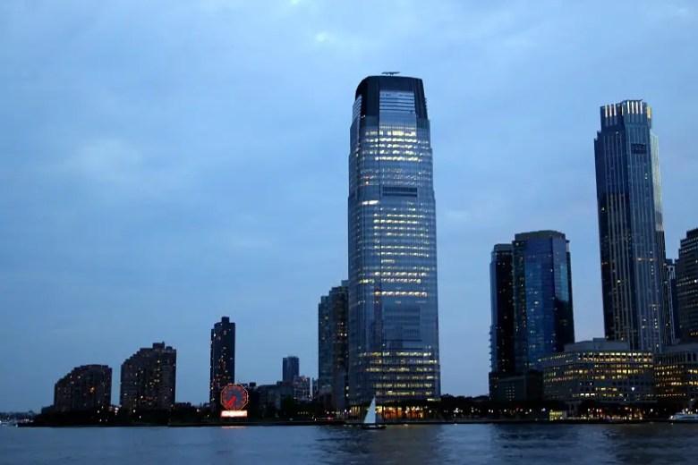 Skyline with Colgate Clock - Quick Trip to Jersey City | janavar