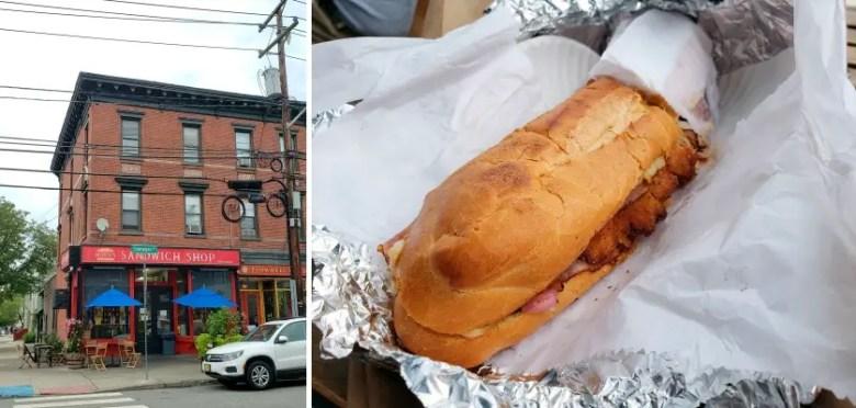 Mordi's Sandwich Shop with The Crazy Cuban sandwich - Quick Trip to Jersey City | janavar