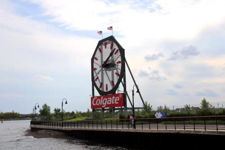 Famous Colgate Clock - Quick Trip to Jersey City | janavar