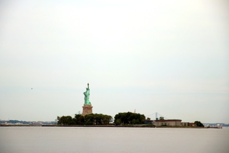 Statue of Liberty seen from Liberty State Park - Quick Trip to Jersey City | janavar