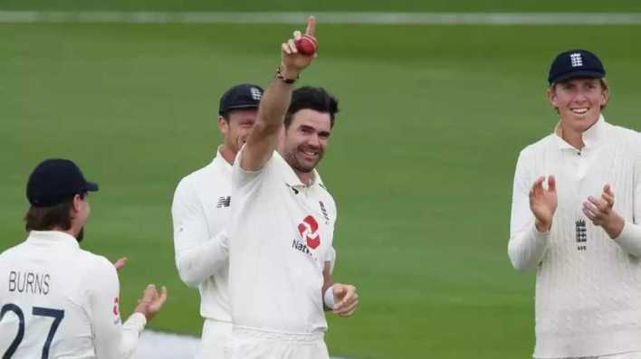 eng vs pak series test match draw anderson 600 wickets