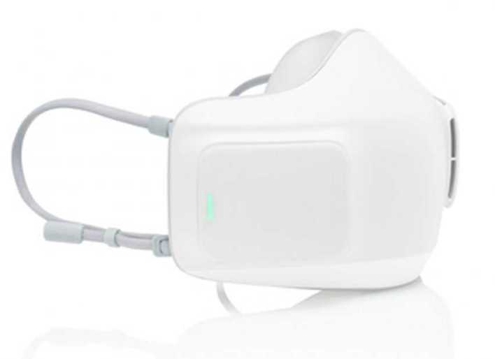 Battery-powered face mask helps to fight COVID and foggy glasses