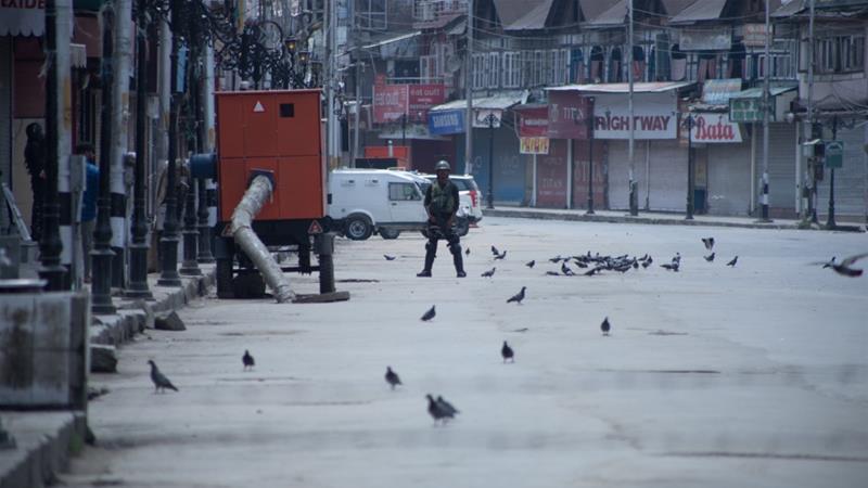 कश्मीर का एक दृश्य।