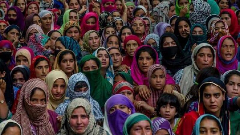 कश्मीरी महिलाएं।
