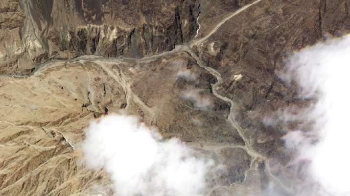 गलवान घाटी। फोटो-एपी