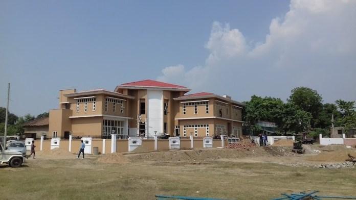 जेपी के गांव सिताबदियारा में जेपी भवन।