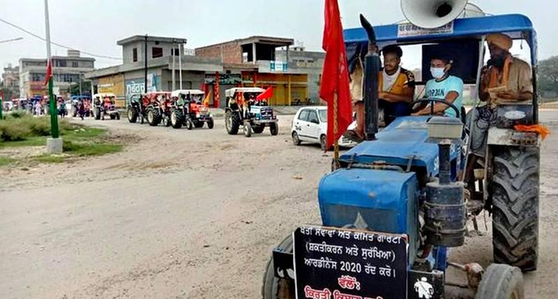 30 दिसंबर को सिंघु बॉर्डर पर ट्रैक्टर मार्च