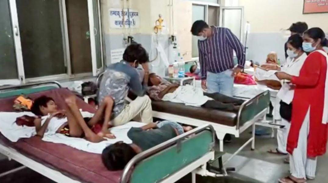 विश्वगुरू का दंभ भरने वाले देश के एक परिवार को 10 दिनों से नहीं मिला एक अन्न, महिला समेत 5 बच्चे अस्पताल में भर्ती