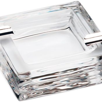 Chrystal Silver Ashtray Leaves