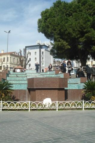 Sultanahmet park , jedna od fontani - Sultanahmet Park, one of many fountains