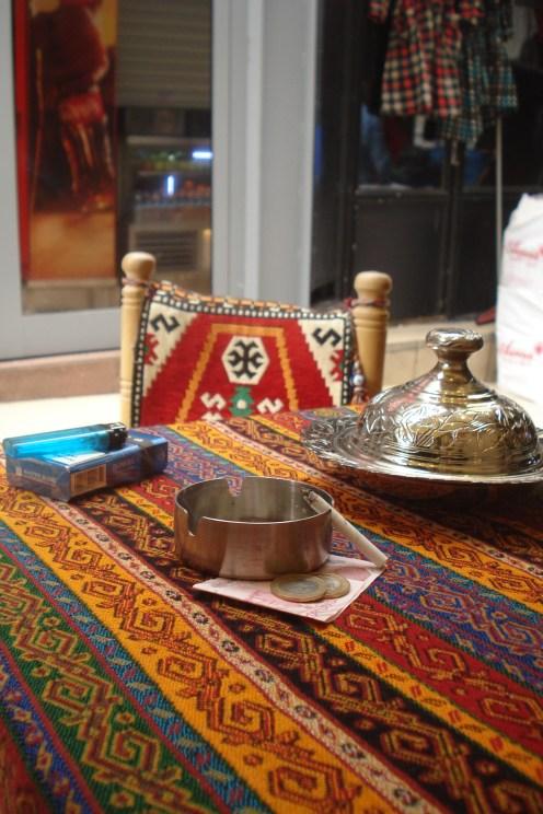 Grand Baazar, odmor uz ratluk i kafu - Grand Baazar, break with turkish delight and coffee