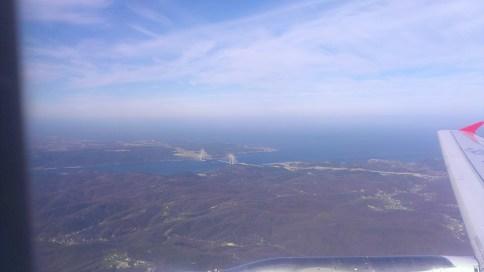 Pogled iz aviona, New Bosphorus bridge