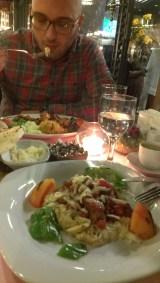 Otomanska kuhinja, junetina na pireu od plavog patlidžana - Ottoman cuisine, beef on mashed eggplant
