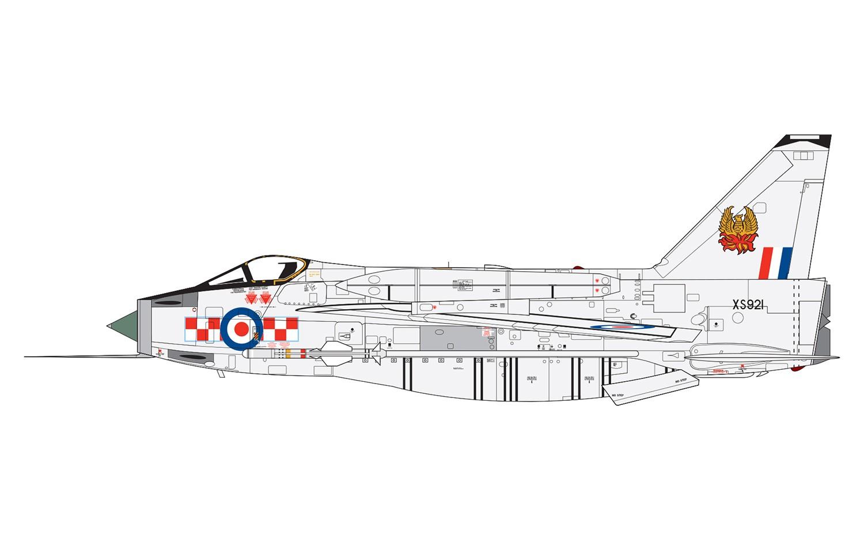 Airfix A A English Electric Lightning F6 1 72