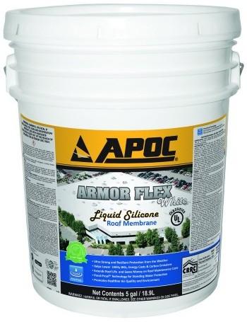 APOC 585 Armor Flex White Silicone Coating
