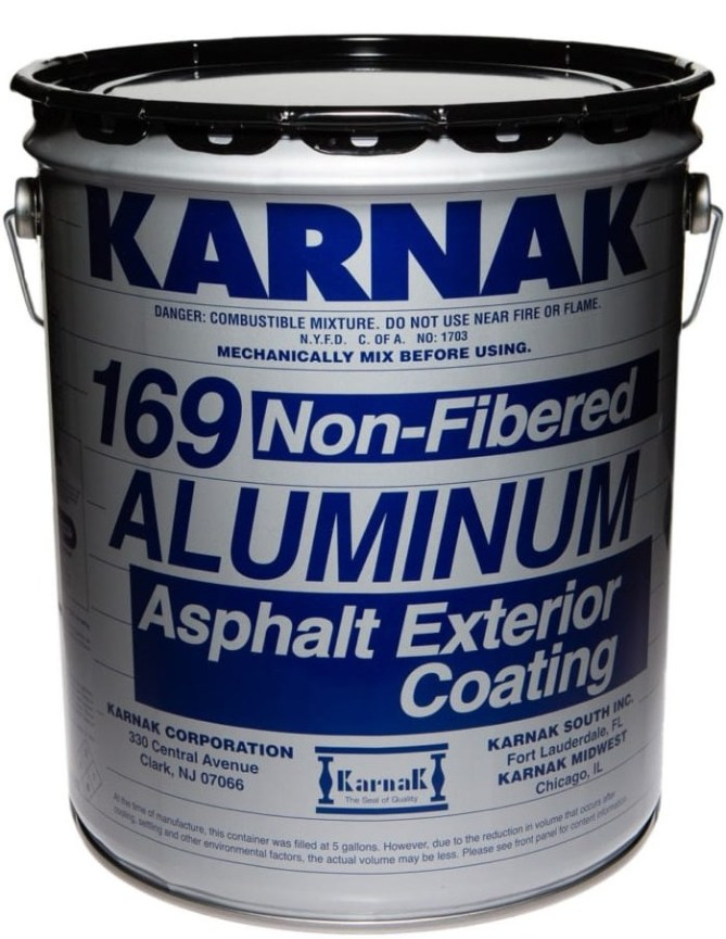 Karnak Fibered and Non-Fibered Aluminum Coating