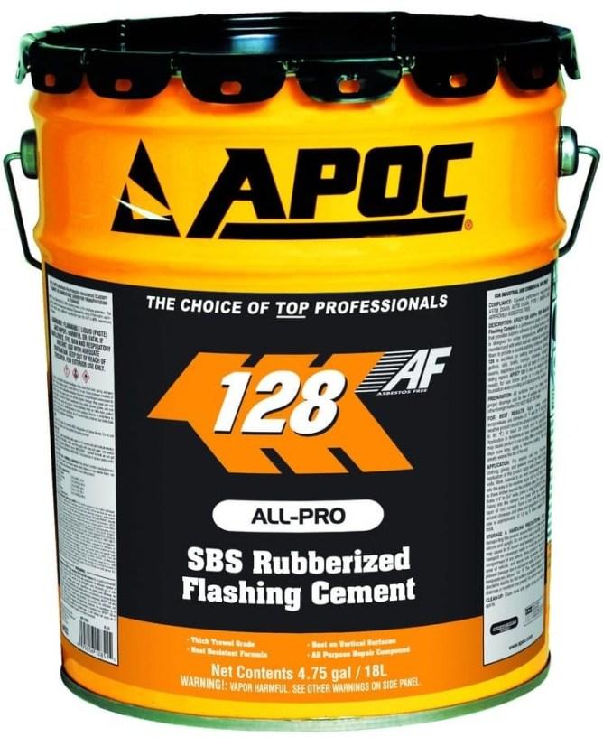 APOC 128 SBS Rubberized Flashing Cement