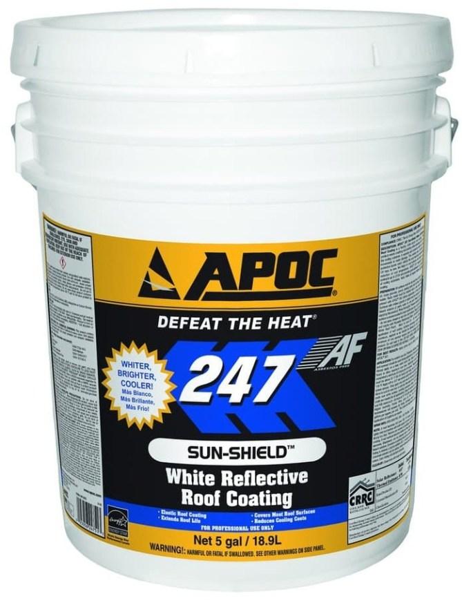 APOC 247 White Reflective Roof Coating