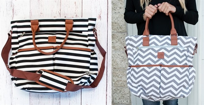 The Perfect Mommy Bag | 2 Patterns