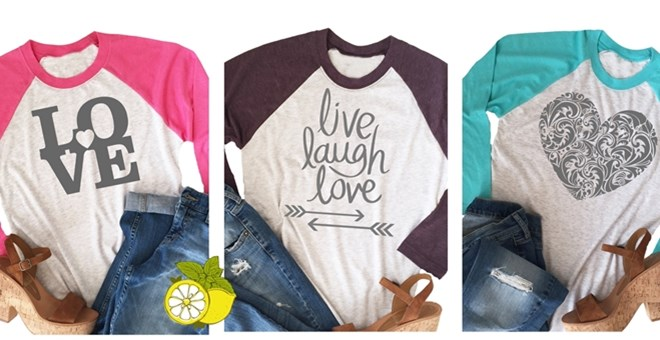 Super Soft Raglan with Love!