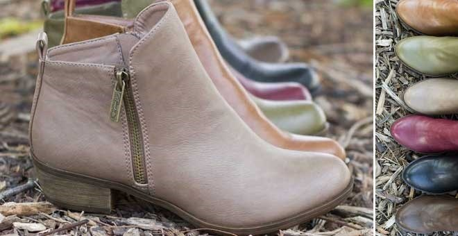Zipper Ankle Booties | 6 Colors