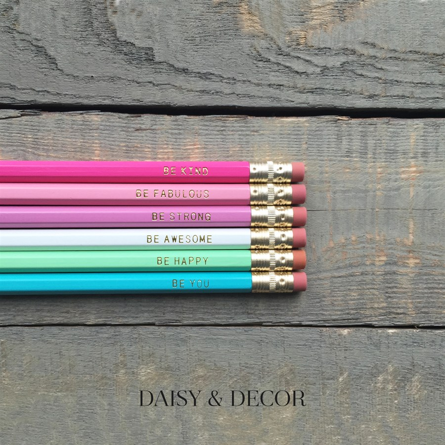 Favorite Five Friday: School Supplies Pencils