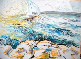 skiff and wind