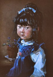 12a Little Japanese girl