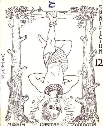 Arcanum 12 hanged man - Version 2