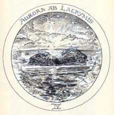 Rosicrucean Emblem: As Dawn breaks through Tears