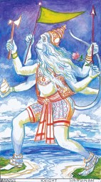 Hanuman crosses to Lanka