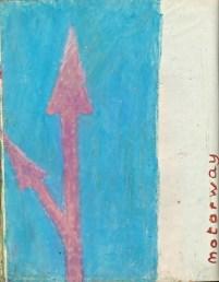 21 liverpool sketches 6, 1969, motorway 1