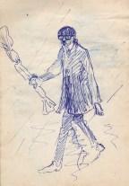 100 pestalozzi sketches - roger cartlidge
