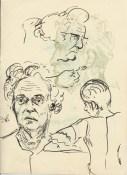 292 Pestalozzi sketches - elevenses