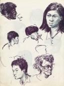 339 Pestalozzi sketches - Tibetans
