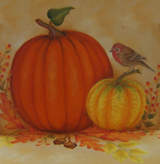 pumpkinsand bird