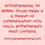 www.janeanesworld.com entrepreneurs and social media