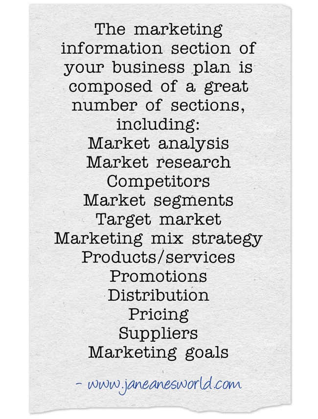 business plan part 2