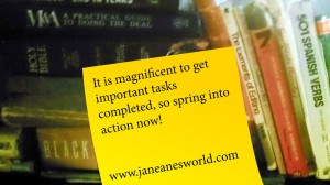 magnficent Monday, completion, take action now, to do list, move