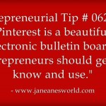 www.janeanesworld.com entrepreneurs use pinterest