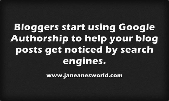 www.janeanesworld.com bloggers usegoogle authorship