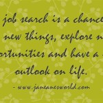 job search a chance to do sometihing new