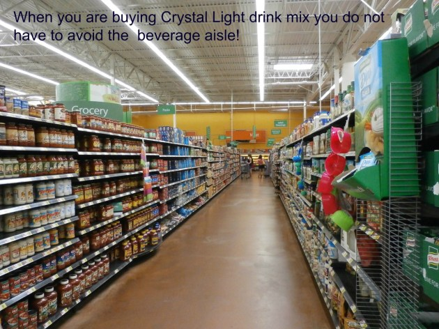 crystal light aisle shot www.janeanesworld.com