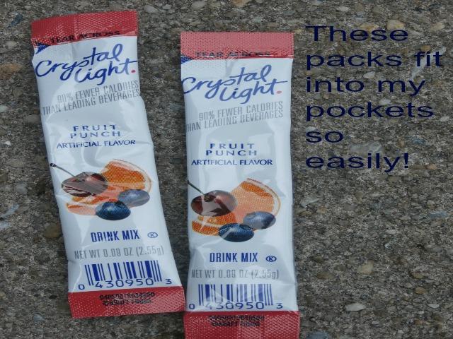 pocket packs Crystal Light www.janeanesworld.com
