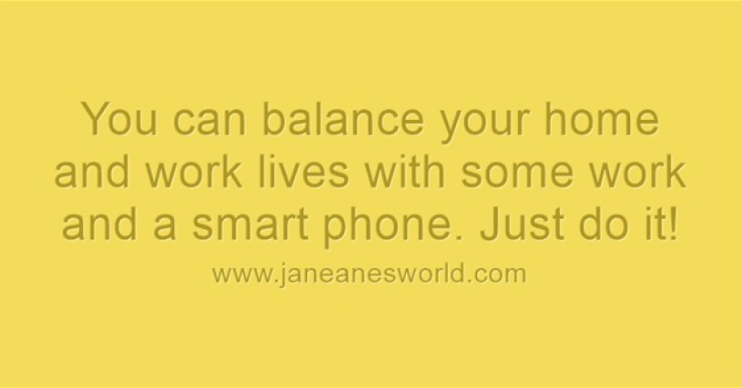 use calendar for balance www.janeanesworld.com