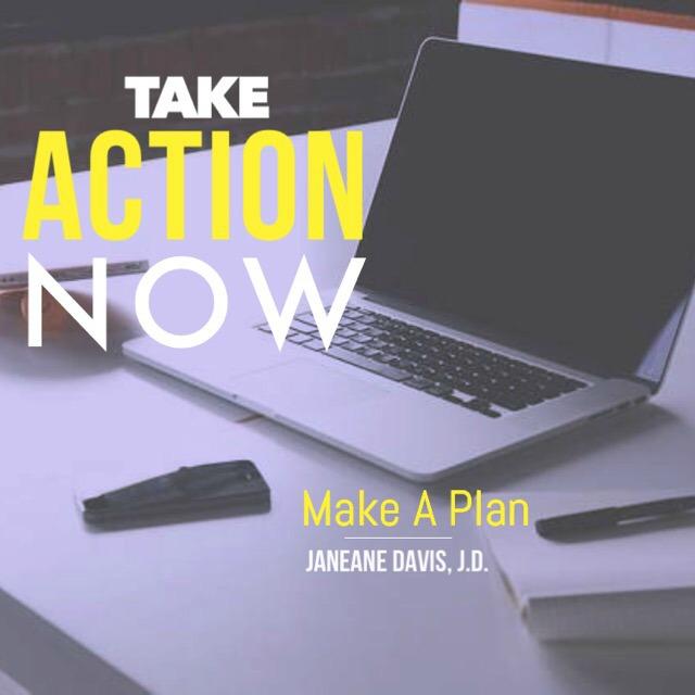 take action now make plan